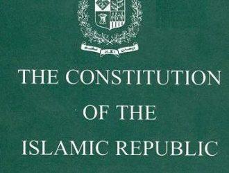Original Constitution of Pakistan 1973, old Constitutions and constitutional orders