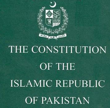 Original Constitution of Pakistan 1973, old Constitutions and constitutional orders